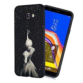 voordelige Galaxy J3 Hoesjes / covers-hoesje Voor Samsung Galaxy J7 (2017) / J6 (2018) / J5 (2017) Schokbestendig / Mat / Patroon Achterkant Sexy dame Zacht TPU