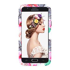 voordelige Galaxy J7 Hoesjes / covers-hoesje Voor Samsung Galaxy J7 / J3 (2018) / J3 Schokbestendig Achterkant dier / Bloem PC