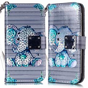 voordelige Galaxy S7 Edge Hoesjes / covers-case voor samsung galaxy s9 s9 plus telefoon case pu leer materiaal metalen hijab 3d kleurrijke telefoon case voor samsung galaxy s10 s10 plus s10 e