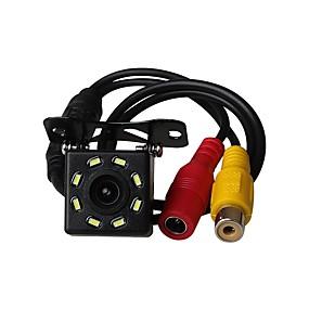voordelige Auto-elektronica-ziqiao universele 8 led auto nachtzicht reverse monitoring automatisch parkeren waterdichte 170-graden hd video backup camera