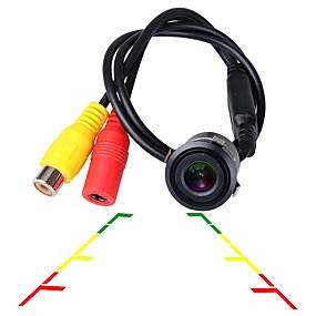 voordelige Auto-elektronica-ziqiao universele hd ccd nachtzicht waterdichte 18,5 mm auto achteruitrijcamera