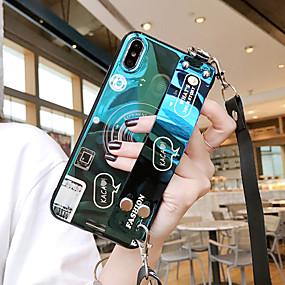 voordelige Galaxy S7 Hoesjes / covers-samsung voor galaxy s10e / s10 / s10 plus blu-ray camera s9 / s9 plus met pols s8 / s8 plus cartoon s7 / s7 edge vierzijdige anti-drop mobiele telefoonhoes