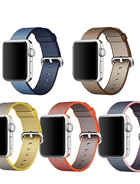 cheap Cell Phone Accessories-Watch Band for Apple Watch Series 4/3/2/1 Apple Classic Buckle Nylon Wrist Strap