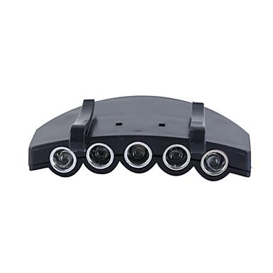 LED taskulamput / Ajolamput LED 4.0 Tila Lumenia Muut CR2032 Muut , Musta Muovi