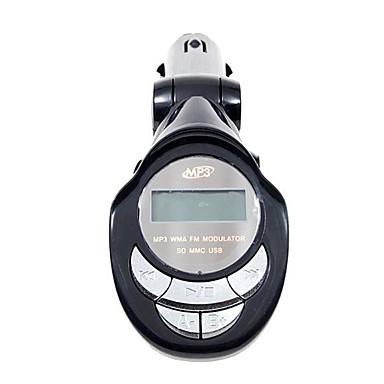 Auto MP3-Player FM-Transmitter mit SD-Steckplatz und IR-Fernbedienung (SD / MMC / usb port/mp3)