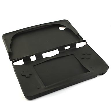 silikoni suojaava iho / Nintendo DSi LL / XL (musta)