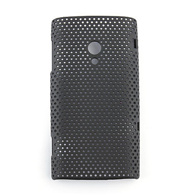 Net sharp protective cell phone case for Sony Ericsson X10(black)