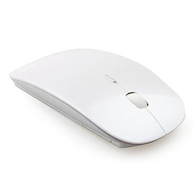 超スリム USB 2.4GHz ワイヤレス マウス(シルバー)