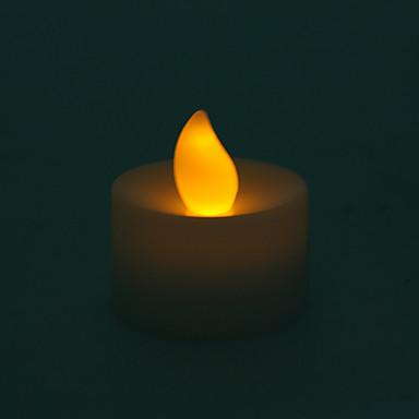 la lumière des bougies LED - lumière jaune
