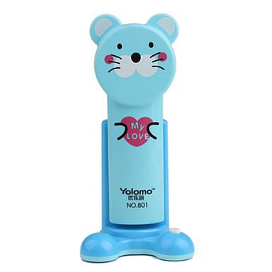 Tabby Cat LED Super Capacity Desk Lamp Blue