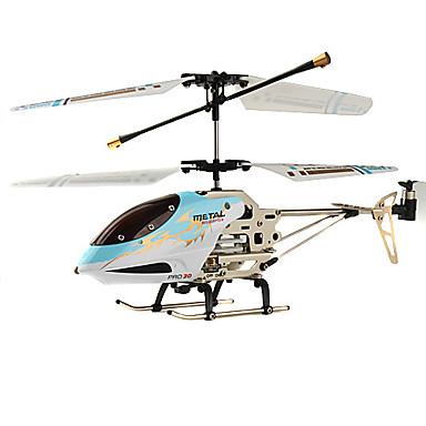 marco de metal recargable de 3,5 ch r / c helicóptero de interior