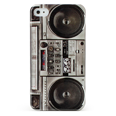 Protective Hard ABS Case for iPhone 4 and 4S (Recorder)