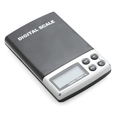 Balanza Digital de Bolsillo (Máx 1000g, Resolución Hasta 0.1g)