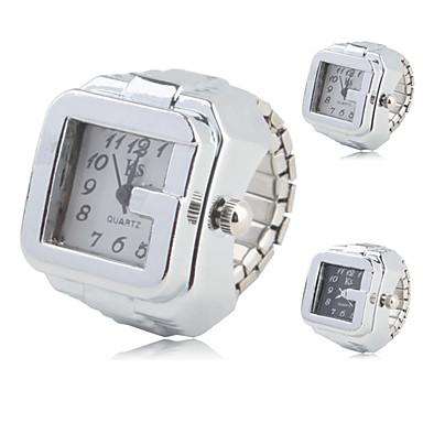 Жен. Кварцевый Часы-кольцо Повседневные часы сплав Группа Винтаж / Мода Серебристый металл