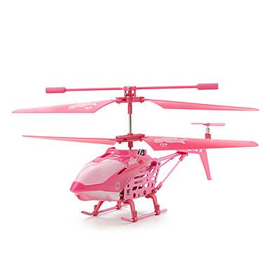 3,5 Channer télécommande hélicoptère (rose)