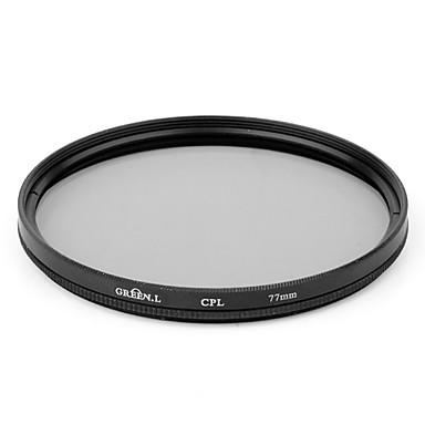 Dight haute définition Filtre CPL 77mm