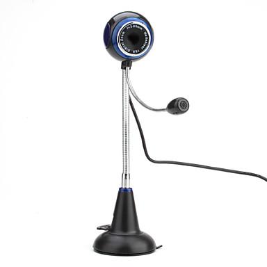 8 megapixels de desktop USB 2.0 webcam com microfone (preto)