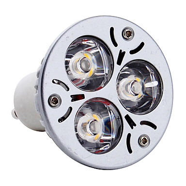 3w gu10 led spotlight mr16 3 yüksek güç 300-350lm led sıcak 3000k ac 85-265v