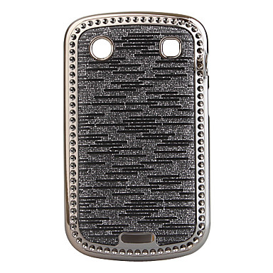 Shining Electroplating Protective Case for Blackberry 9900 (Silver-gray)