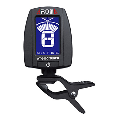 Two Color Backlight Clip Tuner for Wind Instruments / Chromatic