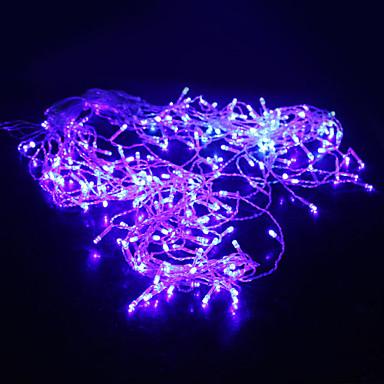 5m Dizili Işıklar 200 LED'ler Dip Led Mavi 220 V