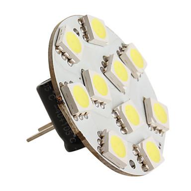 g4 5050 SMD 21 led rgb 0.6W 126lm lampadina per auto (12V dc)