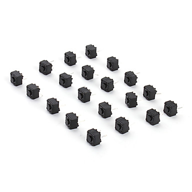 6 x 6 x 6 Key Switch for Electronics DIY (20 Pieces a Pack)