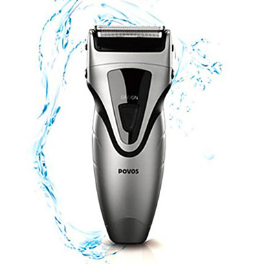 Povos Rechargeable Waterproof Dual-blade Foil Shaver