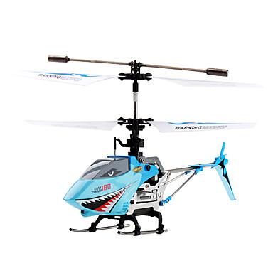 4 canaux modèle requin infrarouge hélicoptère de rc (bleu)
