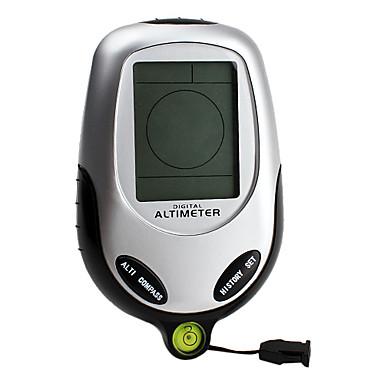 6-in-1 dijital altimetre (barometre, pusula, termometre, hava, zaman)