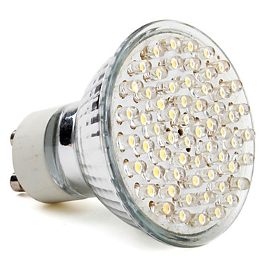 GU10 MR16 - Spotlights (Warm White 300 lm- AC 220-240
