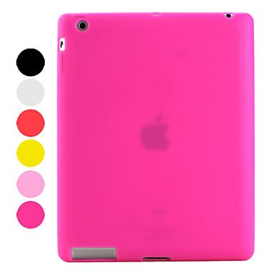 slim silikon etui till iPad 3 & iPad 4 (blandade färger)