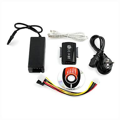USB 2.0 zu SATA 3 x 2,5 3,5 HD-HDD-Adapter-Konverter