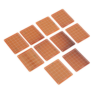 7*9 M0066 Universal Breadboard For Electronics DIY (10 Pieces a pack)