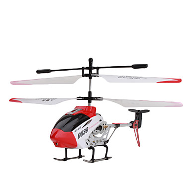 SkyStar 9039 3.5 canaux hélicoptère de contrôle gyroscope à distance (rouge et blanc)