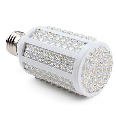 9W E26/E27 LED Mısır Işıklar 166 Dip LED 500 lm Sıcak Beyaz AC 220-240 V