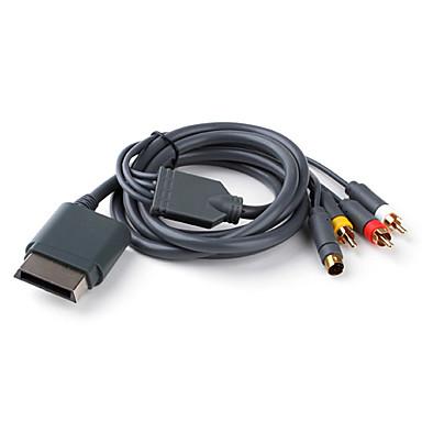 s-video, cable AV para Xbox 360
