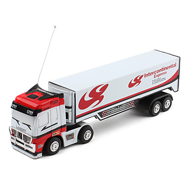 Mini-Transport 27MHz Radio Control Express Truck (White)