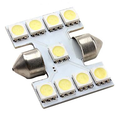 ad alte prestazioni 31 millimetri 9 * 5050 SMD led bianchi car segnale luminoso