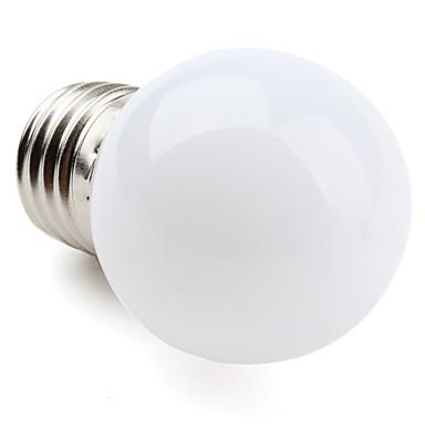 1W 60-100lm E26 / E27 LED Küre Ampuller G45 12 LED Boncuklar SMD 3528 Sıcak Beyaz 220-240V