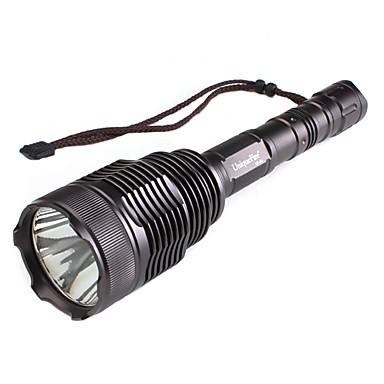 uniquefire uf-v6 grève lunette 5 modes CREE XM-L T6 LED Flashlight (1600lm, 2x18650)