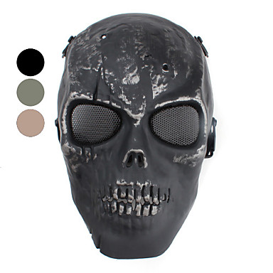 Zombie Mask for BB Gun Sport (Assorted Colors)