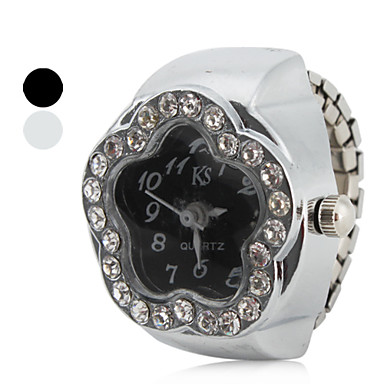 Women's Star Style Alloy Analog Quartz Ring Watch (Assorted Colors) Cool Watches Unique Watches