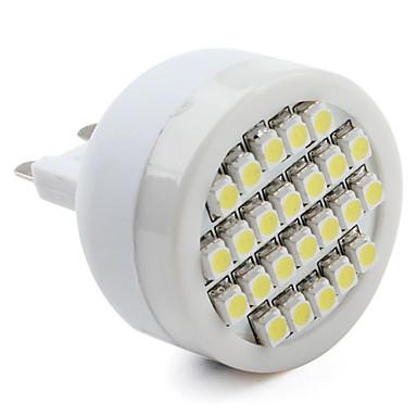 G9 24-3528 SMD 1.3W 80LM 6000-6500K Natural White Light LED Spot Bulb (220-240V)