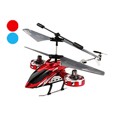 z008 4-kanals fjärrkontroll helikopter med side motor och gyro
