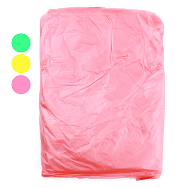 extérieur en plastique jetable poncho de pluie supplémentaire importante