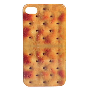 Biscuit Pattern Fashion Design Hard Case for iPhone 4/4S