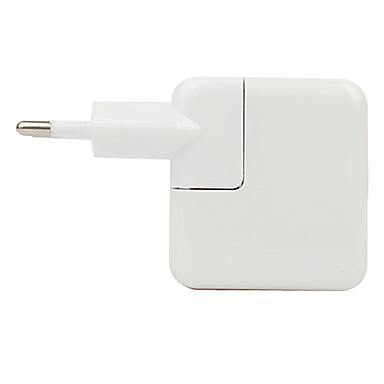 EU-Steckdosen Dual USB Anschluss Reise AC Ladeakku mit LED-Beleuchtung für iPad, iPhone und iPod (110V-240V, 2.1A)