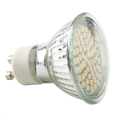 3W GU10 Spot LED MR16 60 SMD 3528 230 lm Blanc Chaud AC 100-240 V