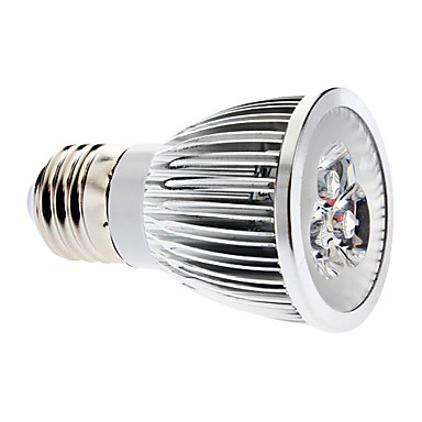 E26/E27 6 W 3 COB 600 LM Natural White MR16 Dimmable Spot Lights AC 220-240 V